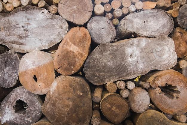 Priorità bassa di struttura di legna da ardere