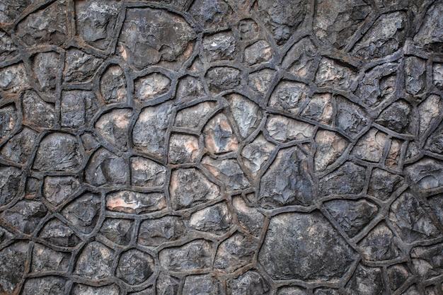 Priorità bassa di struttura di pietra. pietra per decorazione esterna interna, concetto di costruzione industriale.