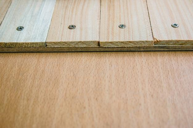 Priorità bassa di struttura di tavolo in legno