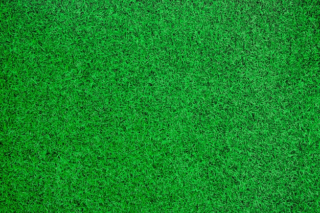 Priorità bassa di vista superiore di erba artificiale verde.