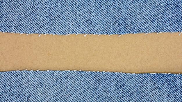 Priorità bassa e struttura delle blue jeans