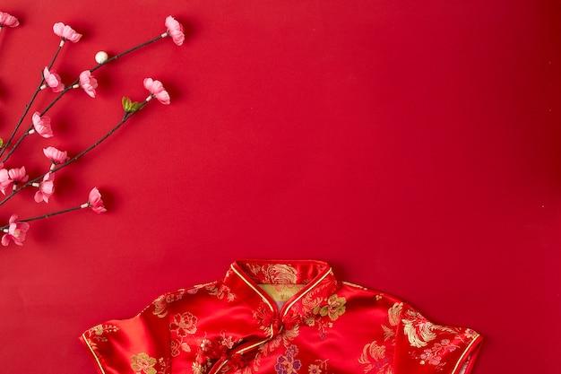 Priorità bassa rossa di nuovo anno cinese.
