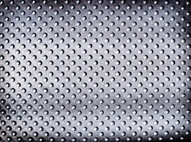 Priorità bassa strutturata metallica d'argento macchiata