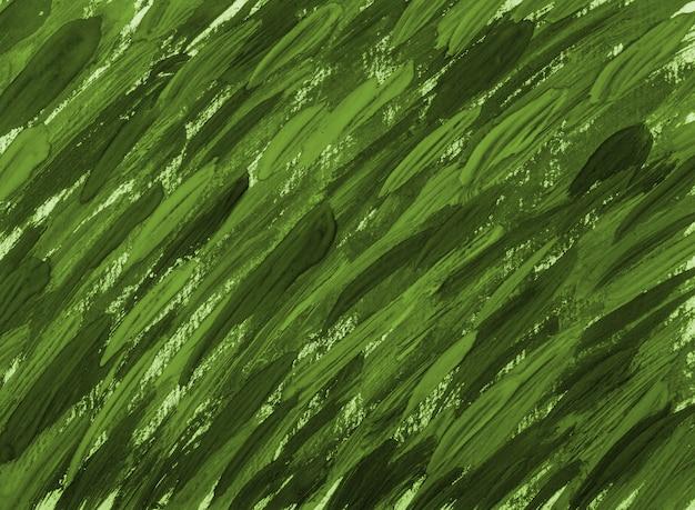 Priorità bassa verde astratta del colpo della spazzola