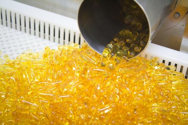 Processo di produzione dell'olio di pesce