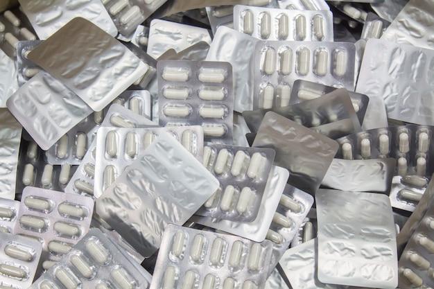 Processo di produzione della capsula in fabbrica.