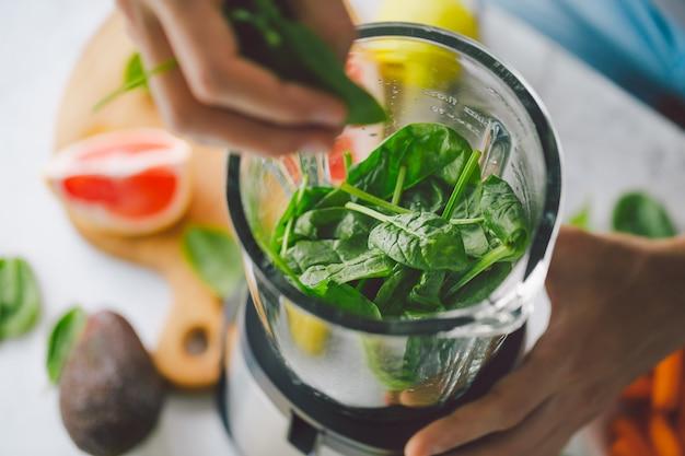 Processo di produzione di frullato sano