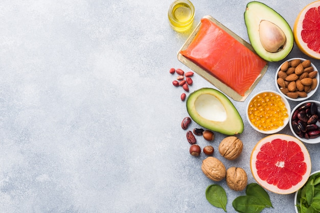 Prodotti antiossidanti alimentari sani