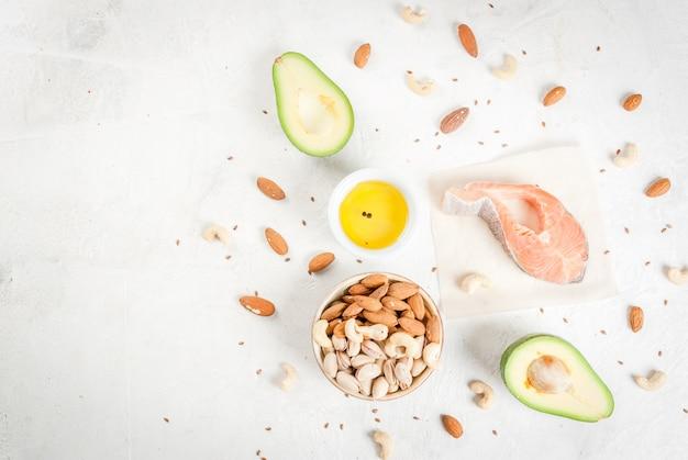 Prodotti con grassi sani