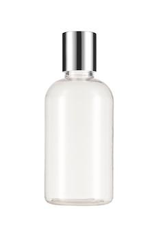 Prodotti cosmetici mock up su uno sfondo bianco. collezione di cosmetici. isolato.