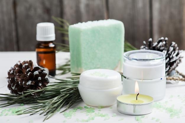 Prodotti di bellezza e sapone fatto a mano