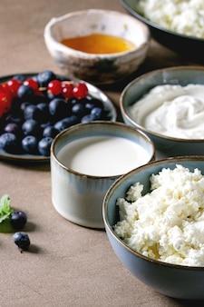 Prodotti lattiero-caseari per colazione