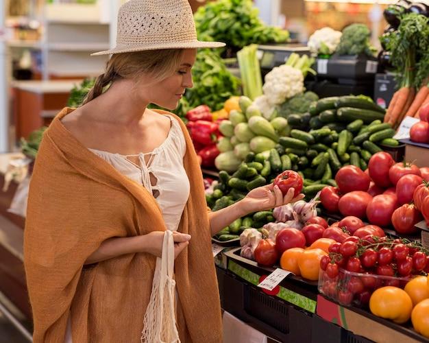 Prodotti naturali dal mercato