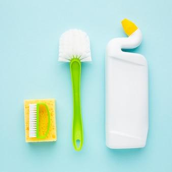 Prodotti per la pulizia mock-up