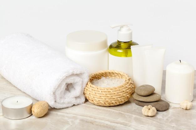 Prodotti termali, concetto di spa