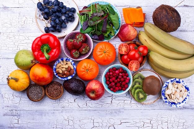 Prodotto salutare per la dieta fruttariana
