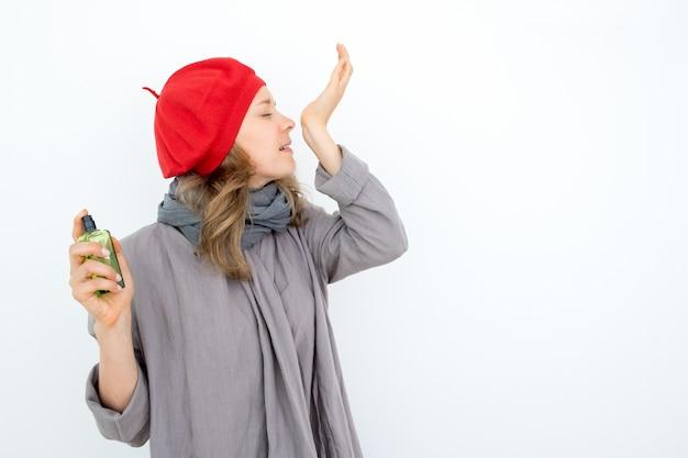 Profumatore francese ispirato creando un nuovo profumo