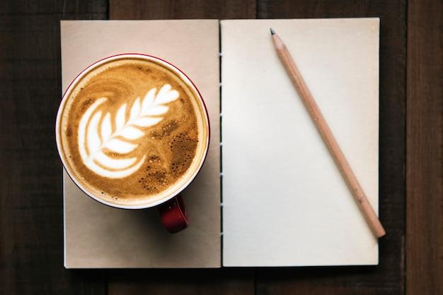 Progettare lo spazio sul blocco note nella caffetteria