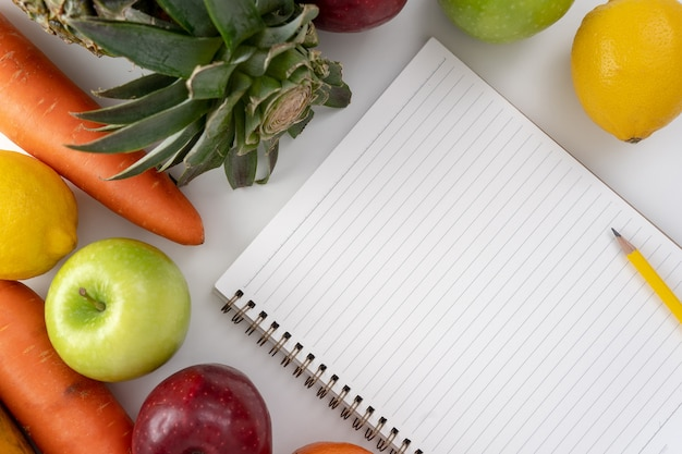 Programma di dieta sana programma di dieta di perdita di peso di dieta