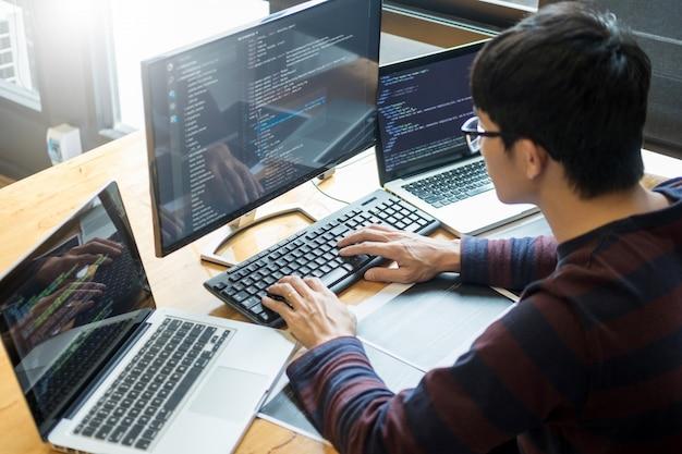 Programmazione del software di sviluppo del programmatore progetto di lavoro it