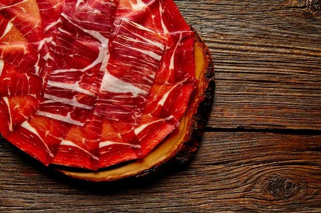 Prosciutto iberico di jamon dalla spagna andalusa