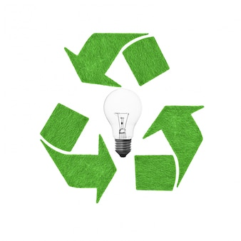 Protezione guglia conservazione freccia di lampadine fluorescenti compatte