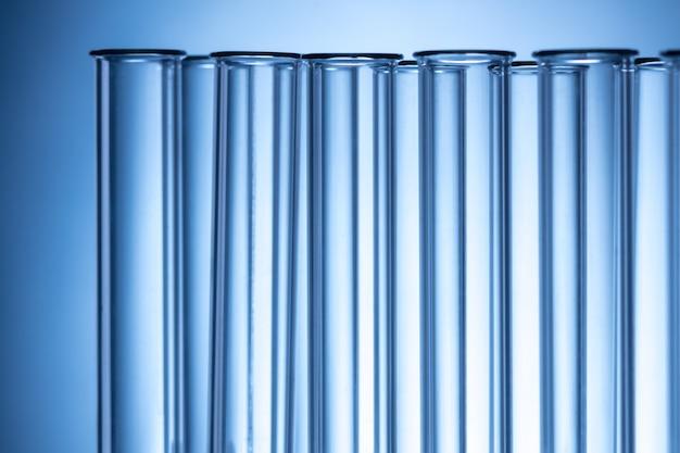Provette di laboratorio, concetto astratto di scienza