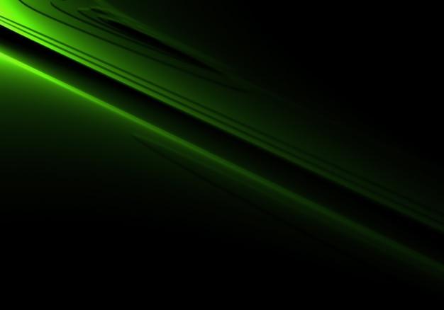 Pulito dinamica luci verdi sfondo