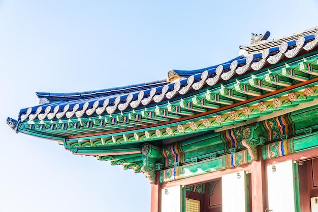Punto di riferimento dinastia corea del complesso seoul