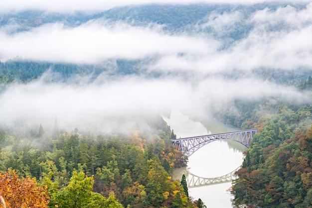 Punto di vista del primo ponte di fukushima