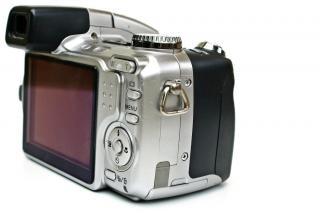 Punto e sparare fotocamera, elettronica