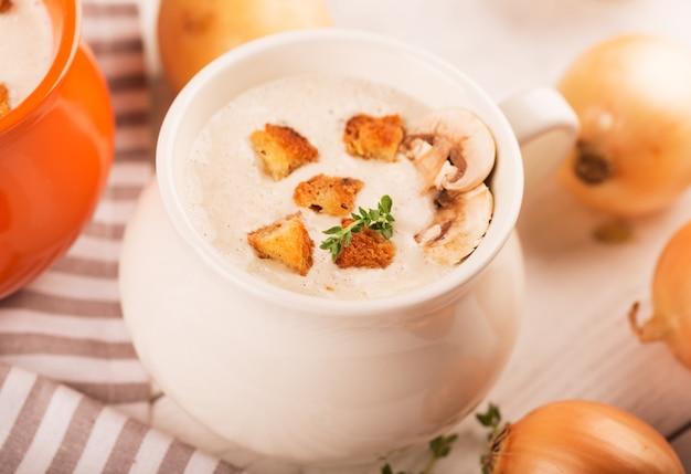 Purea di zuppa deliziosa
