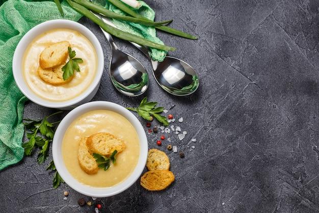 Purea di zuppa di verdure
