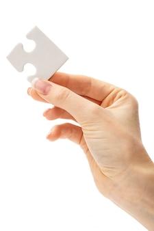Puzzle bianco