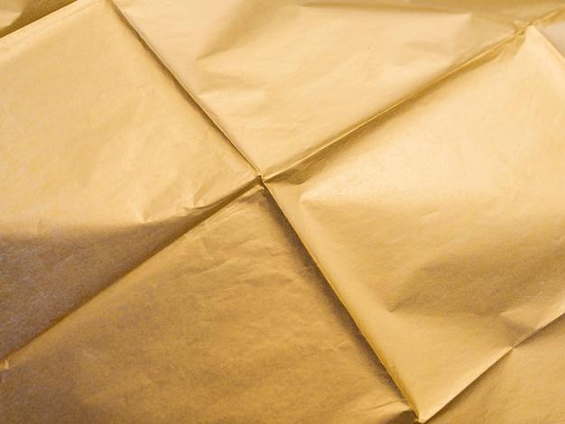 Quadrato d'oro sgualcito