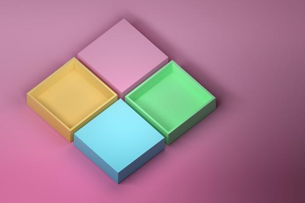 Quattro scatole