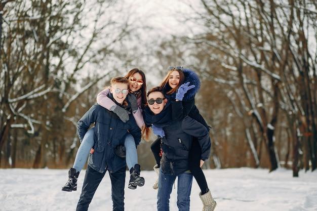 Quattro turisti