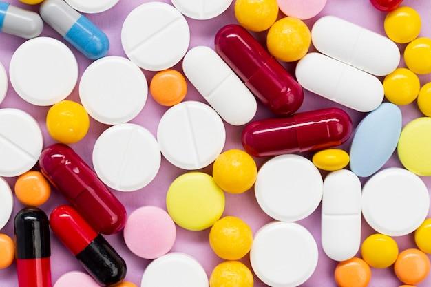 Raccolta di pillole di primo piano