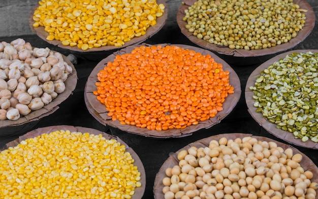 Raccolta di semi di cibo