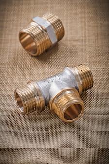 Raccordi per raccordi idraulici su filtro a rete d'acqua
