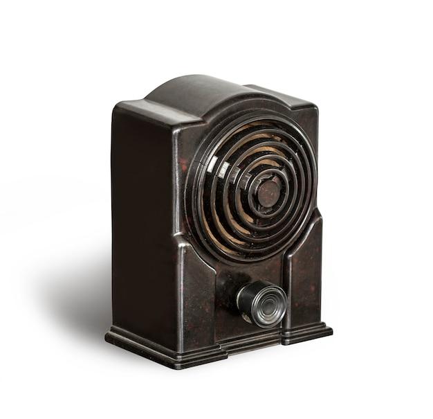 Radio nera antica
