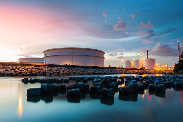 Raffineria di petrolio e gas
