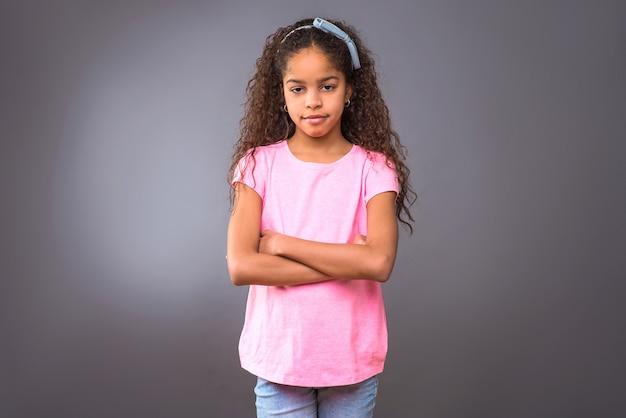 Ragazza adolescente nera
