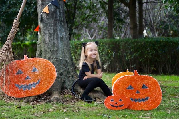 Ragazza di halloween
