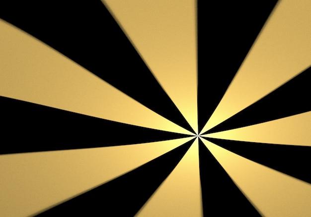 Raggera sfondo d'oro