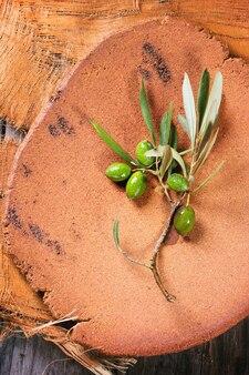 Ramo di ulivo verde