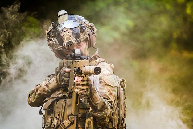 Ranger dell'esercito degli stati uniti durante l'operazione militare