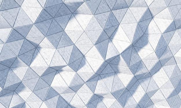 Rappresentazione 3d di una priorità bassa geometrica