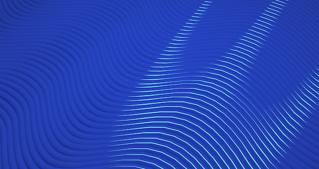 Rappresentazione organica del fondo 3d di forma