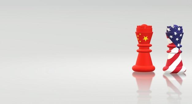 Re degli scacchi cina contro il re degli scacchi america